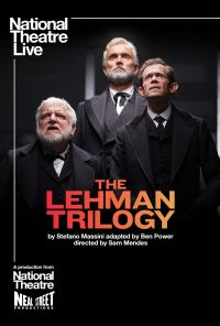 NTL 2019 The Lehman Trilogy Layered Photoshop File Website Listing Image Listings 874x1240px