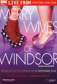 Rsc Live Merry Wives Of Windsor One Sheet Artwork Live