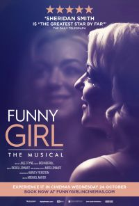 Funny Girl Digital Poster Portrait