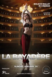 Bol1819 La Bayadere Poster