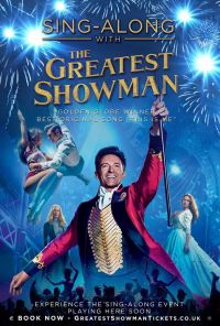 The Greatest Showman Sing Along Poster