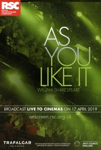 Rsc As You Like It Live One Sheet