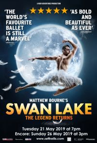 Swan Lake Poster 21 26 May 2019 Poster Small