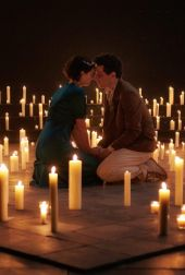 Jessie Buckley Juliet and Josh O Connor Romeo in Romeo Juliet at the National Theatre Photo by Rob Youngson 1 scaled