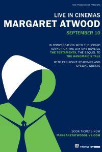 Margaret Atwood 10 Sept 2019