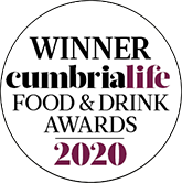 WINNER - cumbrialife Food & Drink Awards 2020